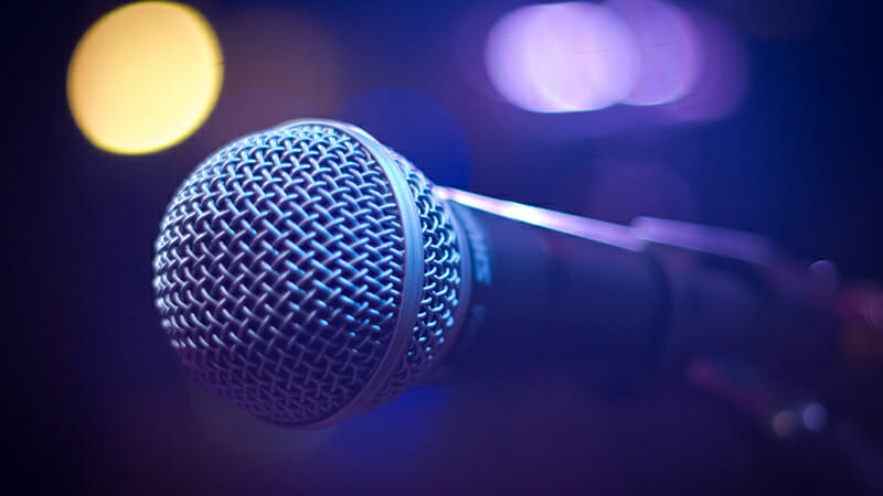 wireless microphone hire leeds
